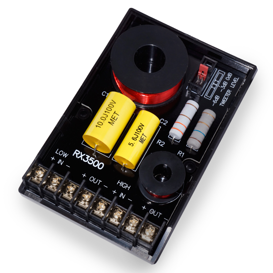 Replay Audio Crossover RX3500 offen